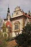 Pruhonice kasztel blisko Praga obraz stock