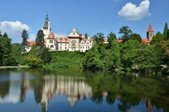 Pruhonice park in Prague Royalty Free Stock Images