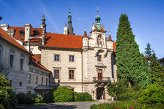 Pruhonicve castle near Prague Royalty Free Stock Photo