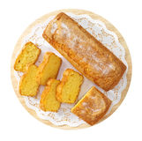Pruim-cake Royalty-vrije Stock Fotografie