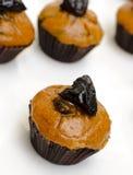 Prune cupcake Stock Photos