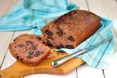 Prune and Port Bread Royalty Free Stock Photos