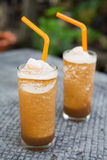Prune smoothie drink for health Royalty Free Stock Photo