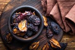 Pruneau, fruits secs de prunes Photographie stock libre de droits