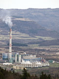 Prunerov coal power plant Royalty Free Stock Image