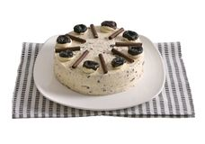 Prunes Cake Royalty Free Stock Image