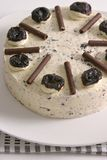 Prunes Cake Close Up View Royalty Free Stock Photo