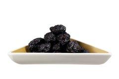 Prunes in Dish Stock Photos
