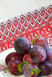 Prunes mûres Image stock