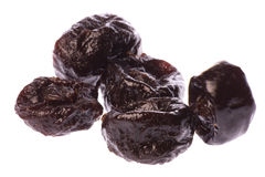 Prunes Macro Isolated Stock Images