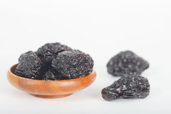 Prunes ou pruneaux Photos stock