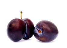Prunes, plums Royalty Free Stock Photos