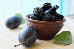Prunes and plums Royalty Free Stock Image
