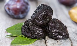 Prunes sèches Images stock