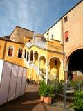 Prunktreppe der Ehre in Ferrara, Italien stockbilder