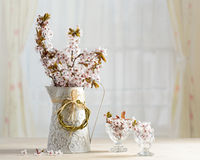 Prunusblomning Royaltyfria Bilder