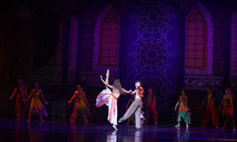 """Pruriency Palace- ballet """"One Thousand and One Nights"""" Stock Photo"""