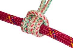 Prusik knot closeup Stock Photos