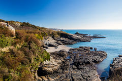 Prussia Cove Cornwall England Stock Photography