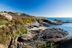Prussia Cove Cornwall England Royalty Free Stock Photo