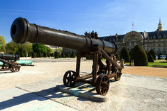 Prussian cannon close up Stock Photos