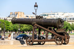 Prussian Cannon Stock Photography