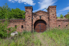 Prussian fortress ruins in Gdansk. Stock Images