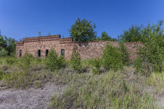 Prussian fortress ruins in Gdansk Stock Images