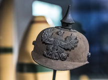 Prussian Pickelhaube Helmet Stock Photos