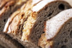 Prussian Rye Bread Royalty Free Stock Photos