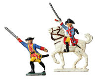 Prussian Toy Soldiers Royalty Free Stock Photo