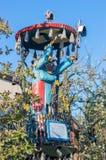 PRUSZCZ GDANSKI, ПОЛЬША - 1-ое мая 2017: Статуя Mary, матери Иисуса Христоса на Pruszcz Gdanski Стоковое фото RF