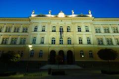 Prva Gimnazija Maribor Fotos de Stock