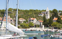 Prvic Luka. Croatia Royalty Free Stock Photography