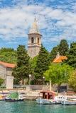 Prvic Luka Kroatien Arkivbild