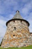 Pryadilnaya tower of the Solovetsky monastery royalty free stock image