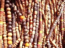 prydd med pärlor bakgrund Royaltyfri Foto