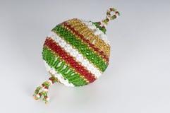 prydd med pärlor boll Fotografering för Bildbyråer