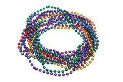prydde med pärlor halsband royaltyfria foton