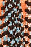 prydde med pärlor halsband Royaltyfri Bild
