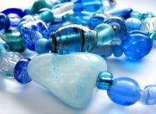 prydde med pärlor smycken Royaltyfri Bild