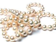 pryder med pärlor pearly Royaltyfri Foto