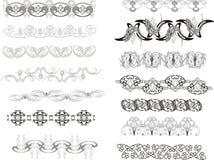 prydnad royaltyfri illustrationer