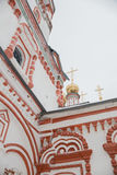 Prydnad av kyrkan epiphanyen Fotografering för Bildbyråer