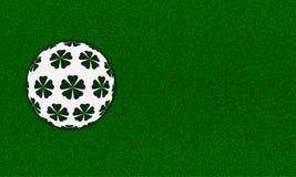 prydnad för bakgrundsgräsgreen Arkivbild