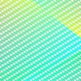 Prydnad för Batik för blått för tapetabstrakt begreppgräsplan Arkivfoto