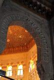 prydnad för islamisk moské för al mursy Arkivbild