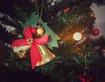 Prydnad för julklocka Royaltyfri Bild