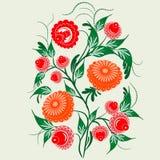 Prydnad i den slaviska folkstilen Royaltyfria Bilder