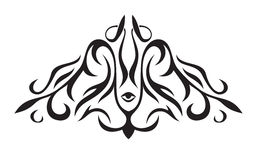 Prydnad i formen av triangeln Royaltyfria Bilder